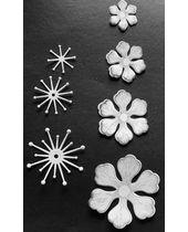 Kraftzone - Premium Flower Cutouts - Pattern #294 (35 pcs  - Set of 5 flowers)