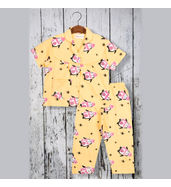 Acute Angle Penguin Night suit ( for girls)