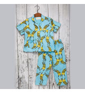 Acute Angle Cats Night suit ( for girls)