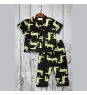 Acute Angle Crocodile Night suit ( for girls)