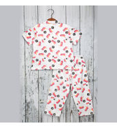 Acute Angle Dino Night suit ( for girls)