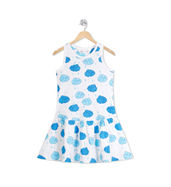 Acute Angle Carefree Clouds frock (Sleevless)