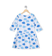 Acute Angle Carefree Clouds frock (with sleeves)