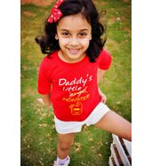 Daddy's little Monster - Organic cotton tee or toddlers