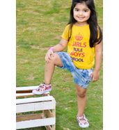 Girls Rule Boys Drool - Organic cotton tee for toddlers