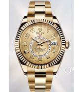 Rolex Sky Dweller Yellow Gold Swiss ETA Watch