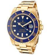 Rolex Submariner Blue Gold