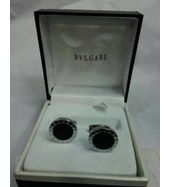 Bvlgari Black Ceramic Cufflinks