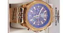 Breitling For Bentley Full Golden Chain Watch
