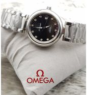 Omega Silver Chain Ladies Luxury Watch