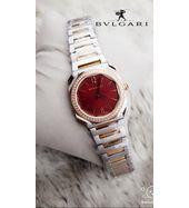 Bvlgari  Golden and Silver Luxury Ladies Watch