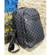 Louis Vuitton Grey Check Back Pack