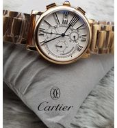 Cartier Full Golden Luxury Watch