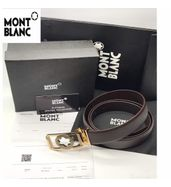 Mont Blanc Office Leather Belt