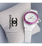 Chanel White Ladies Watch