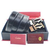 Cartier Double Buckle Leather Belt