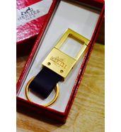 Hermes Golden Keychain
