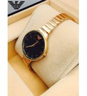 Emporio Armani Golden Chain Ladies Watch