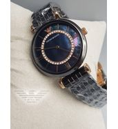 Emporio Armani Black Chain Ladies Watch