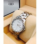 Gucci Silver Chain Ladies Watch