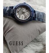 Guess Dark Blue Ladies Watch