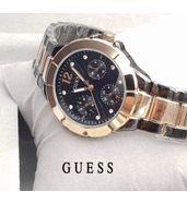 Guess Dual Tone Chain Ladies Watch