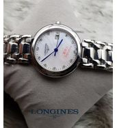Longines Silver Chain Ladies Watch