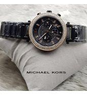 Michael Kors Black Chain Watch