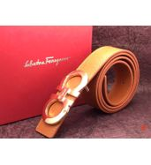 Salvatore Ferragamo Tan Belt