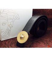 Versace Golden Logo Buckle Belt
