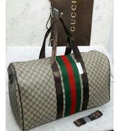 Gucci Beige Duffle Bag