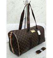 Louis Vuitton Big Strap Monogram Duffle Bag