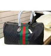 Gucci Black Duffle Bag