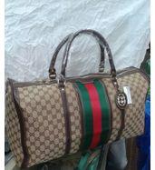Gucci Brown Duffle Bag