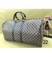 Louis Vuitton Check Big Duffle Bag