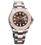 Rolex Yacht Master Dual Tone Rose Gold Watch
