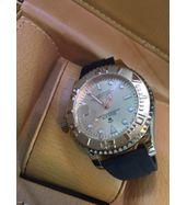 Rolex Yacht Master Black Strap Watch