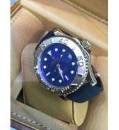 Rolex Yacht Master Blue Dial Strap Watch