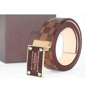 Louis Vuitton Damier Ebene Reversible Belt
