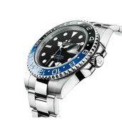 Rolex GMT Master II Blue Black Bruiser Watch