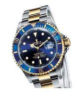 Rolex Submariner Blue Dual Tone