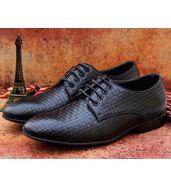 Louis Vuitton Oxford Black Leather Shoes