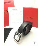 Cartier Black Leather Belt