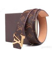Louis Vuitton Golden Monogram Belt