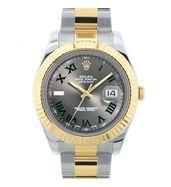 Rolex Datejust II Two Tone Watch