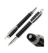 Montblanc Starwalker Black Silver Roller Pen