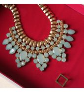 Minty necklace