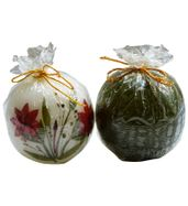 SALEBRATIONS PERFUMED GLOBE CANDLES