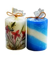SALEBRATIONS PERFUMED CYLINDRICAL CANDLES