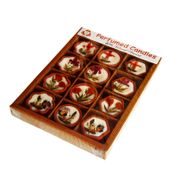 SALEBRATIONS MULTI PERFUMED TERRACOTTA CANDLES WITH NATURAL DRY FLOWERS GIFT PACKS TYPE 10